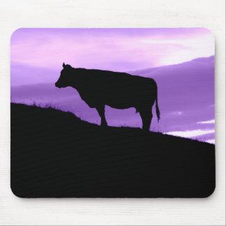 Purple Cow Mouse Pad