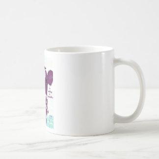 Purple Cow Quite Possibly Contemplating Flight Mug