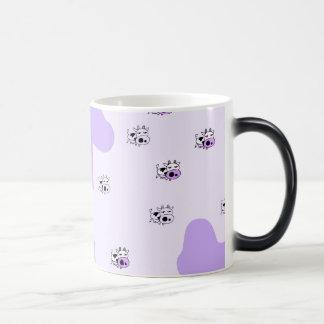 Purple cows coffee mugs