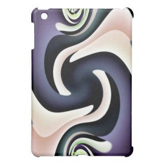 Purple Cream Abstract Speck Case iPad Mini Cover