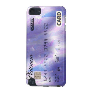 Purple credit card iPod touch (5th generation) covers