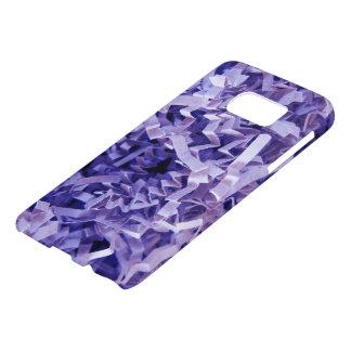 Purple Crinkled Shredded Paper Photograph