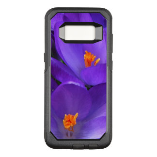 Purple Crocus Flowers OtterBox Galaxy S8 Case