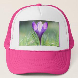 Purple Crocus in spring 03.3 Trucker Hat