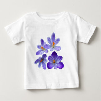 Purple crocuses 02 baby T-Shirt