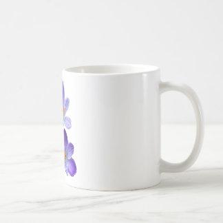 Purple crocuses 02 coffee mug