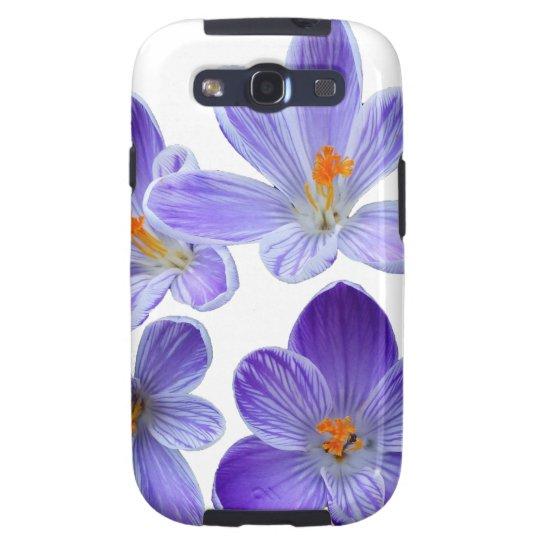 Purple crocuses 02 galaxy s3 case