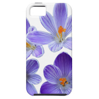 Purple crocuses 02 tough iPhone 5 case