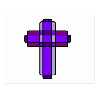 Purple Cross Postcard