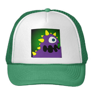 PURPLE CRUNCHER CAP