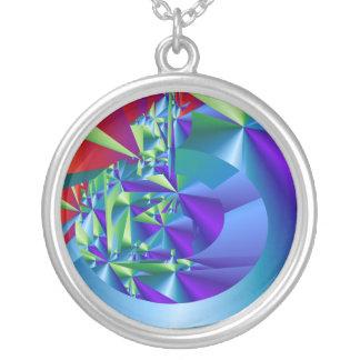 Purple Crystal Design> Necklace