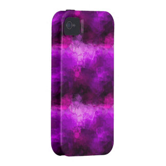 Purple Crystals Case-Mate iPhone 4 Covers