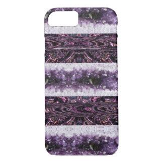 Purple Crystals iPhone 7 Case