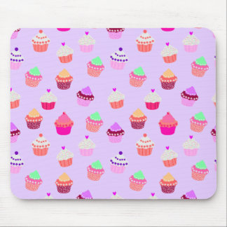 Purple Cupcake Confetti Mousepad