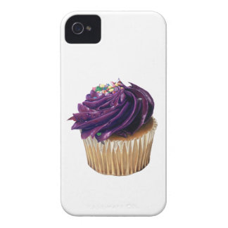Purple Cupcake iPhone 4 Case by Case-Mate
