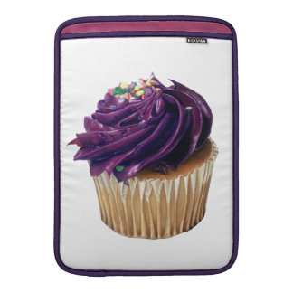 Purple Cupcake Macbook Air Sleeve