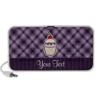 Purple Cupcake Laptop Speakers