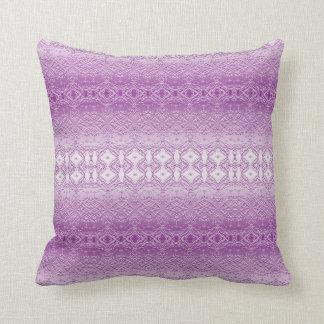 purple cushion satin