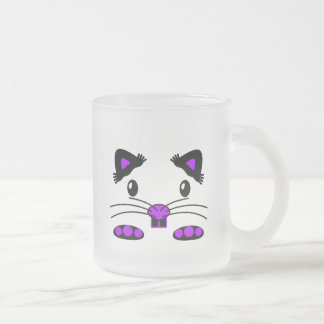 Purple Cute Hamster / Mouse frosted mug