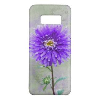 purple dahlia watercolor Case-Mate samsung galaxy s8 case