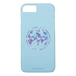 Purple Daisy Bat Signal iPhone 8/7 Case