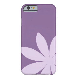 Purple Daisy Flower Barely There iPhone 6 Case