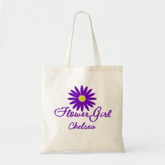 Purple Daisy Flower Girl