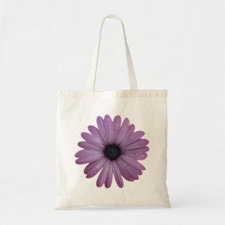 Purple Daisy Like Flower Osteospermum ecklonis Budget Tote Bag