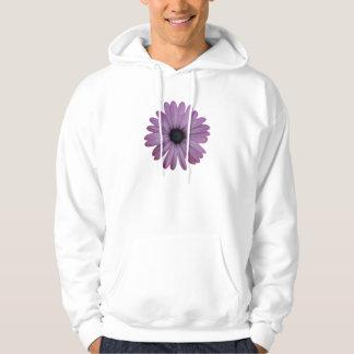 Purple Daisy Like Flower Osteospermum ecklonis Hoodie