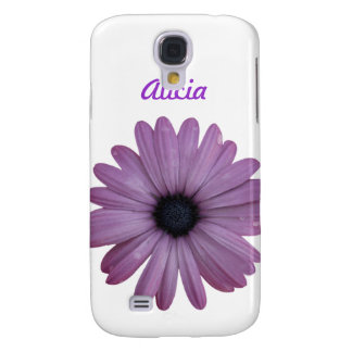 Purple Daisy Like Flower Osteospermum ecklonis Samsung Galaxy S4 Covers