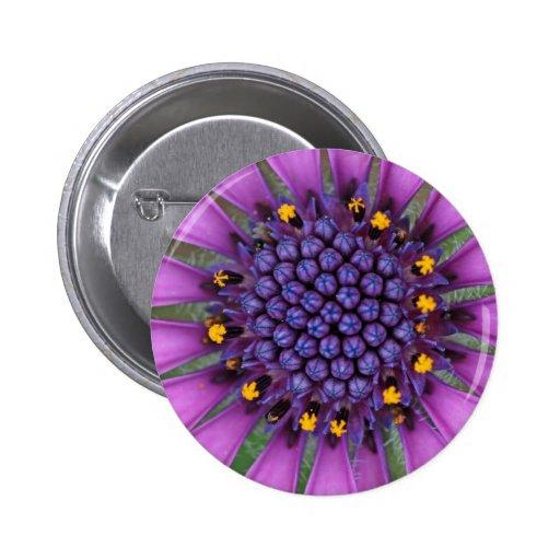 Purple Daisy Picture Pins