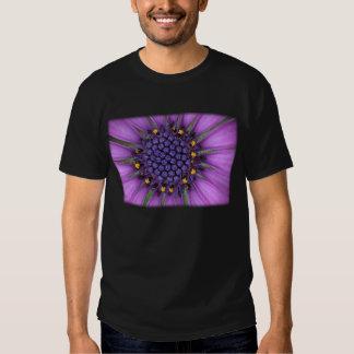 Purple Daisy Picture Tee Shirt