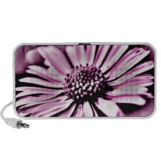 Purple Daisy Mp3 Speakers