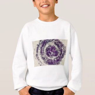 Purple Daisy Swirl Sweatshirt
