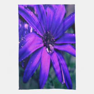 Purple Daisy Tea Towel