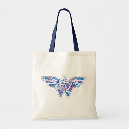 Purple Daisy WW Canvas Bags