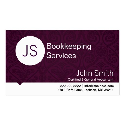 Accounting business card templates mandegarfo accounting business card templates accmission Choice Image