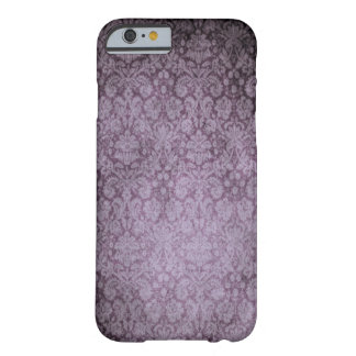 Purple Damask iPhone 6 case Barely There iPhone 6 Case