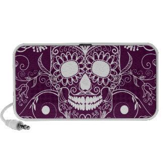 Purple Day of the Dead Travelling Speaker