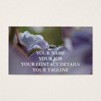 Purple Days Business Card
