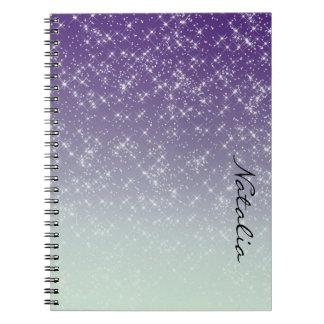 Purple Daze Notebook