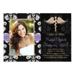 Purple Dental School Graduation Announcements