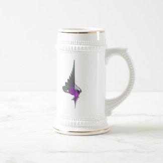 Purple Dervish Abstract Art Beer Steins