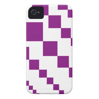 Purple Descending Diamonds iPhone 4 Cover