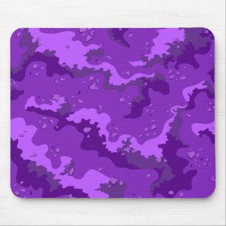 Purple Desert Camo Computer Mousepad