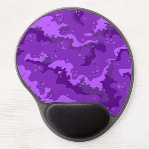 Purple Desert Camo Gel Computer Mousepad Gel Mouse Mats