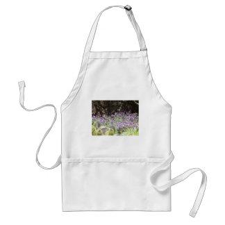 Purple Desert Flowers Standard Apron
