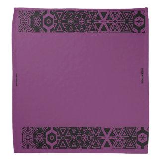 Purple design bandanna