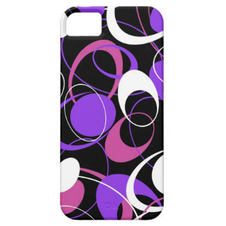 Purple Design By Crystal iPhone 5 Case