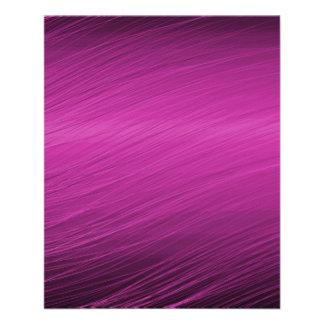 "Purple Design 4.5"" X 5.6"" Flyer"